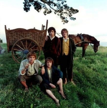 four-hobbits