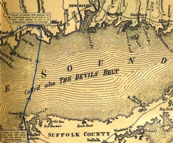 Devil's Belt Map